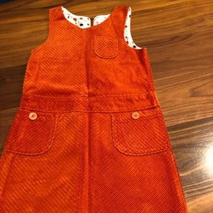 Gymboree Corduroy Rust color dress size 8